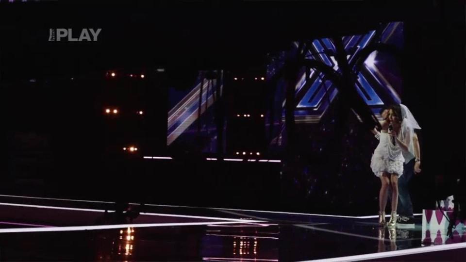 X Factor - Marina Laduda - před vystoupením