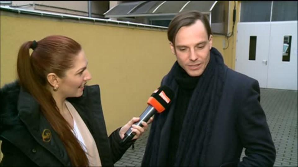TOP STAR 18.3.2016 - Václav Jiráček a Jana Stryková - focení pro Glanc