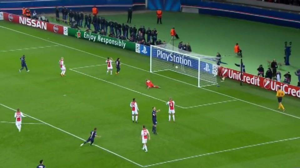 Gól - Ibrahimovic 79 (25.11.2014)