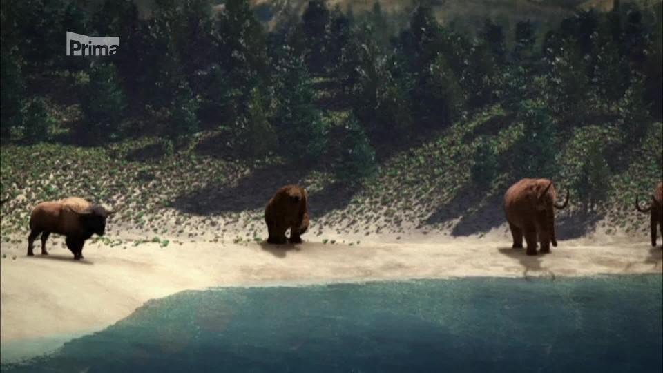 Past na mastodonta - Severní Amerika