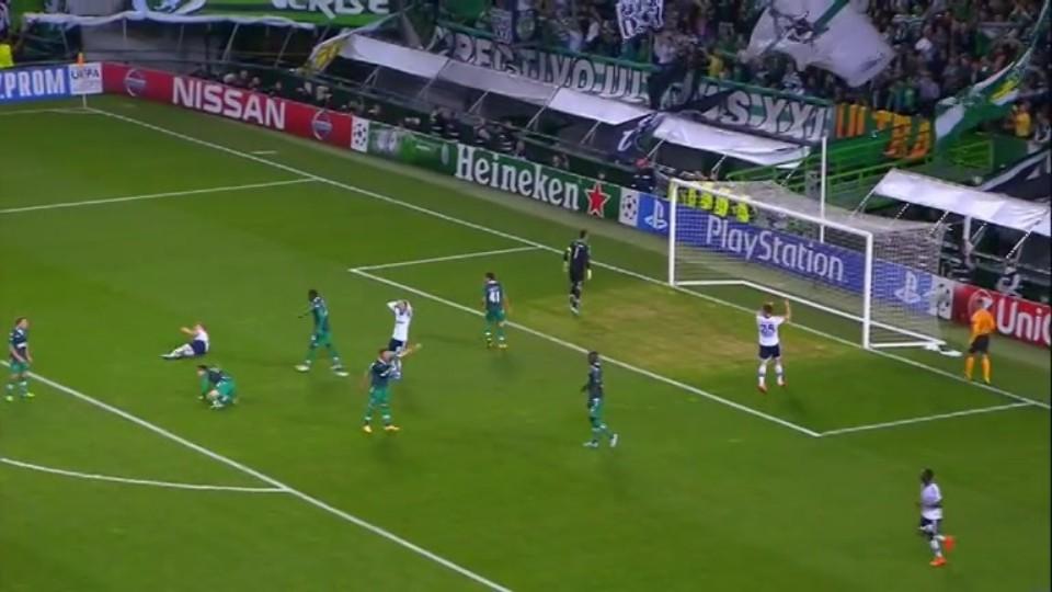 Sestřih zápasu - Sporting v Schalke (5.11.2014)