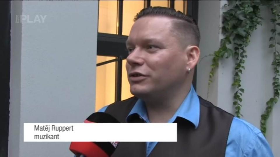 Matěj Ruppert - rozhovor před natáčením TGM