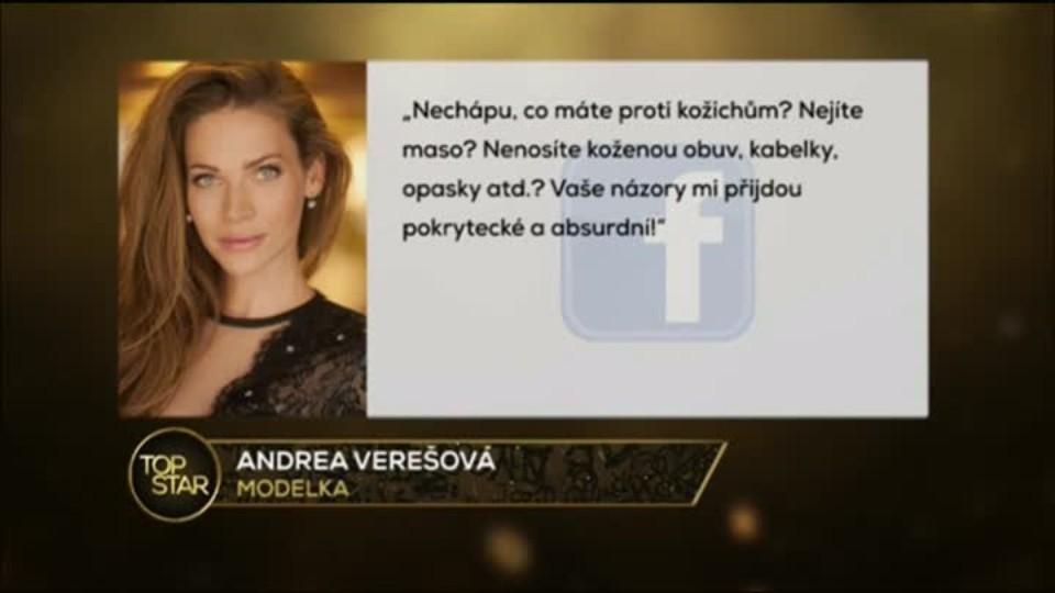 TOP STAR 4.2.2016 - Andrea Verešová a Dara Rolins kritika