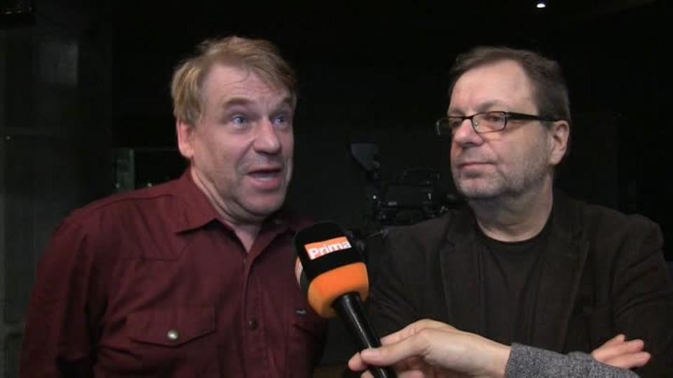 Tomáš Vorel a Milan Šteindler v SJK