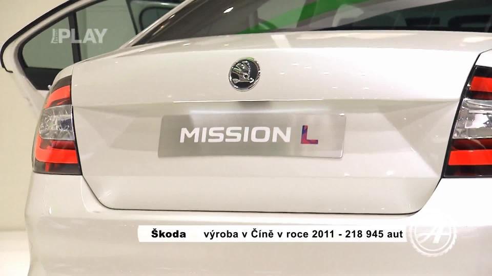 Škoda Mission L China