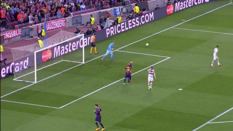 Sestřih zápasu - Barcelona v Bayern (5.5.2015)