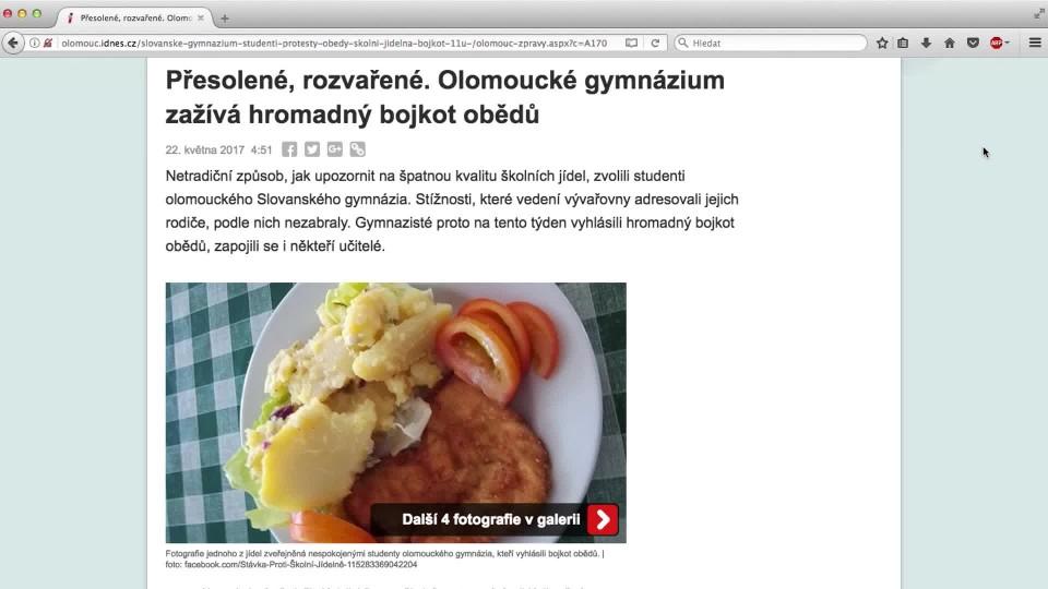 Ano, šéfe! VII (10) - Making of Olomouc/školní jídelna