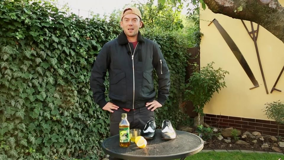Olivový olej na boty