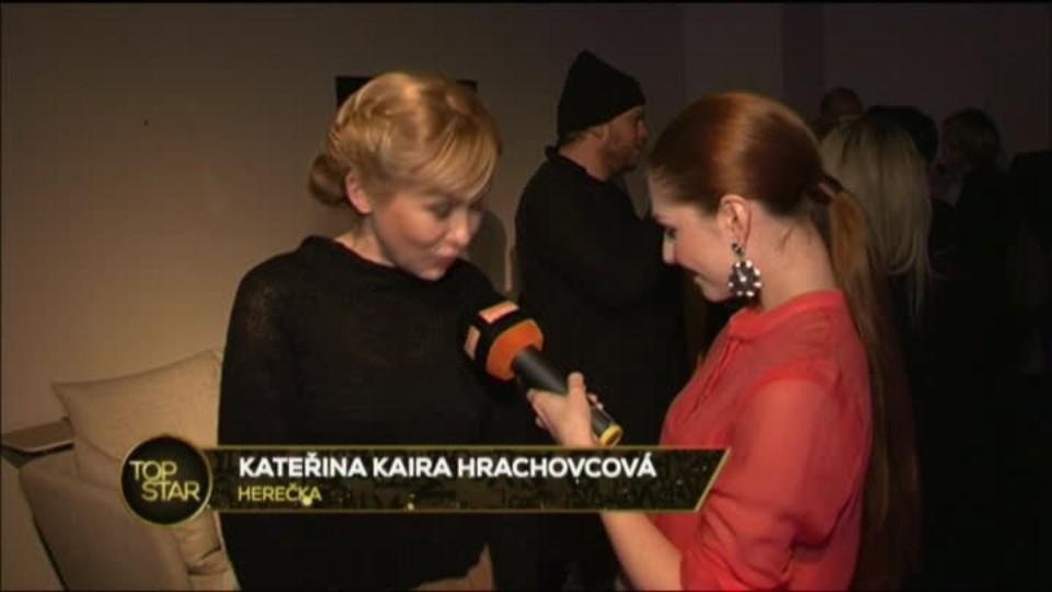 TOP STAR 18.3.2016 - Prague Fashion Week - Celebrity