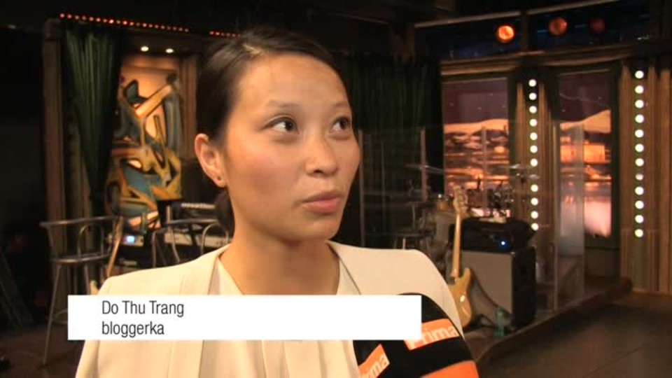 Bloggerka Do Thu Trang v SJK