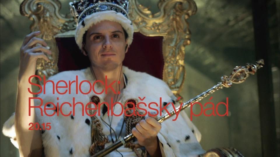 Sherlock: Reichenbašský pád - upoutávka