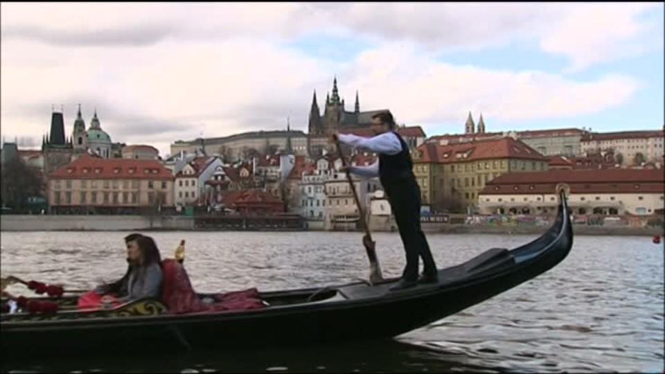 TOP STAR 14.2.2016 - Gondoly na Vltavě