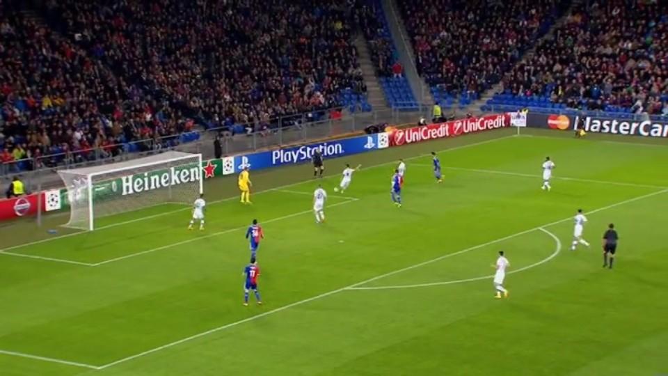 Sestřih zápasu - Basel v Ludogorets (4.11.2014)