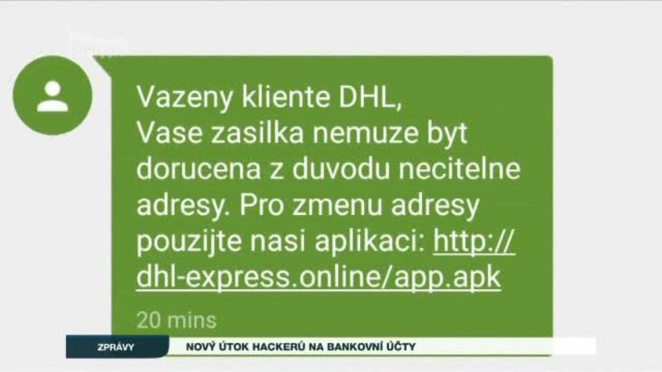 Nový útok hackerů na bankovní účty