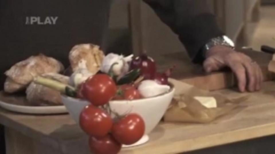 VJŠ (5) - hamburger s bylinkovým máslem