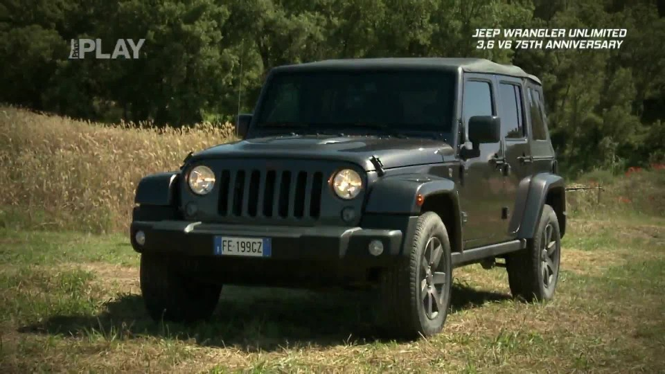 Jeep Wrangler Unlimited 3,6 V6 75th Anniversary