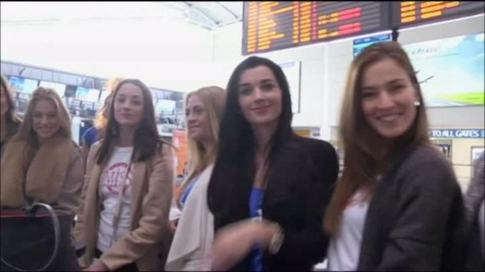 TOP STAR - Missky na letišti