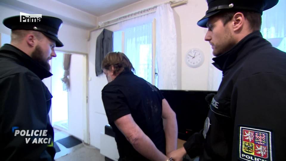 Střelba na exekutora - Policie v akci