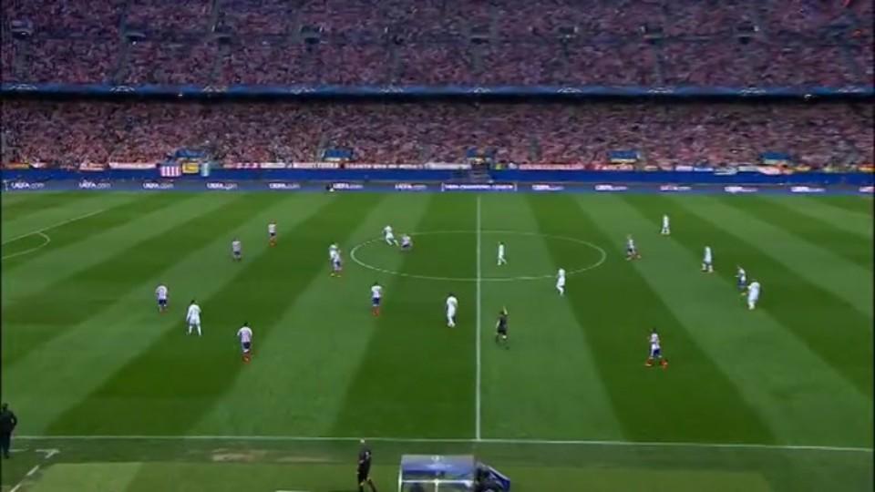 Sestřih zápasu - Atletico v Real Madrid (14.4.2015)