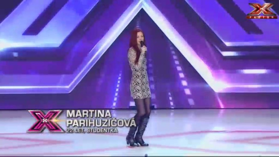 X Factor - Parihuzicova