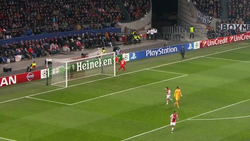 Sestřih zápasu - Ajax v APOEL (10.12.2014)