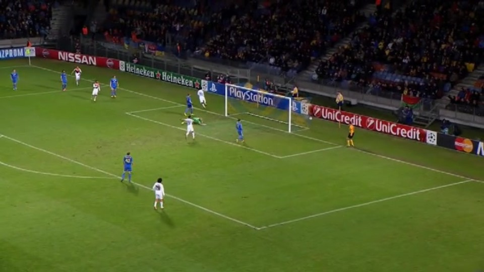 Gól - Luiz Adriano 36 (21.10.2014)