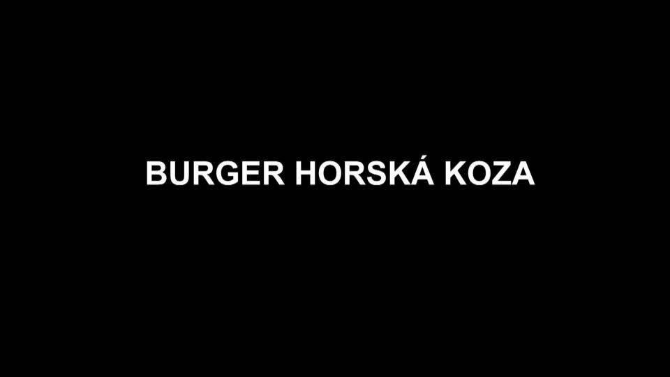 Burger horská koza