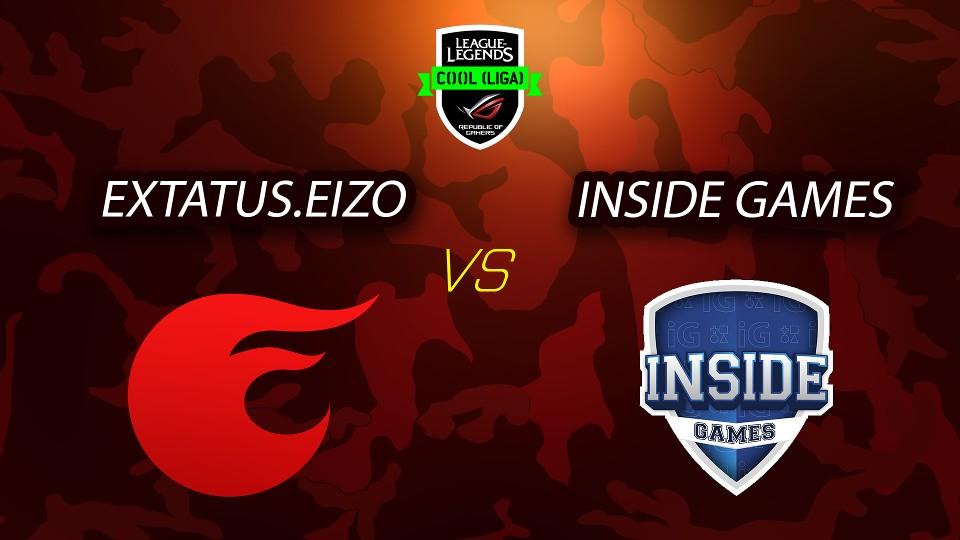 ROG COOL Liga - League of Legends - eXtatus vs Inside Games