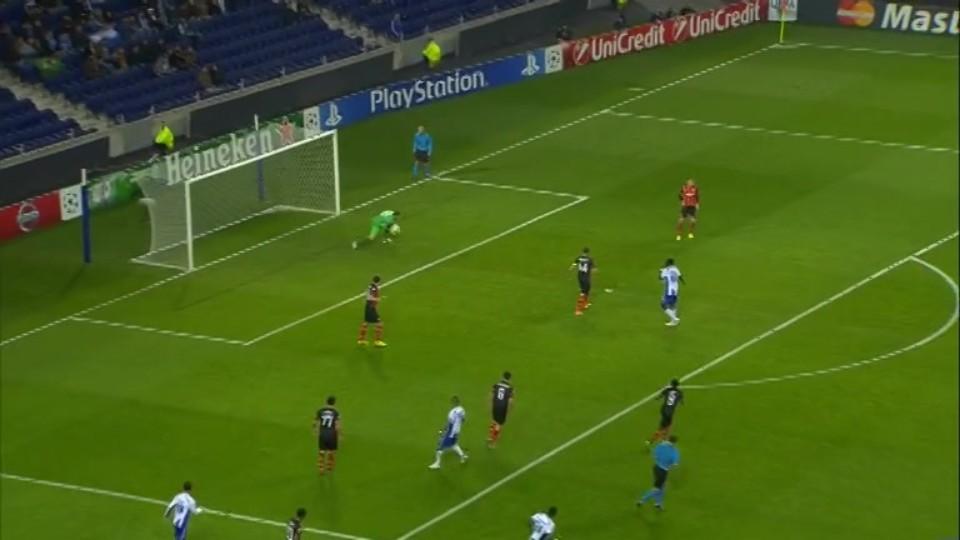 Sestřih zápasu - Porto v Shakhtar Donetsk (10.12.2014)