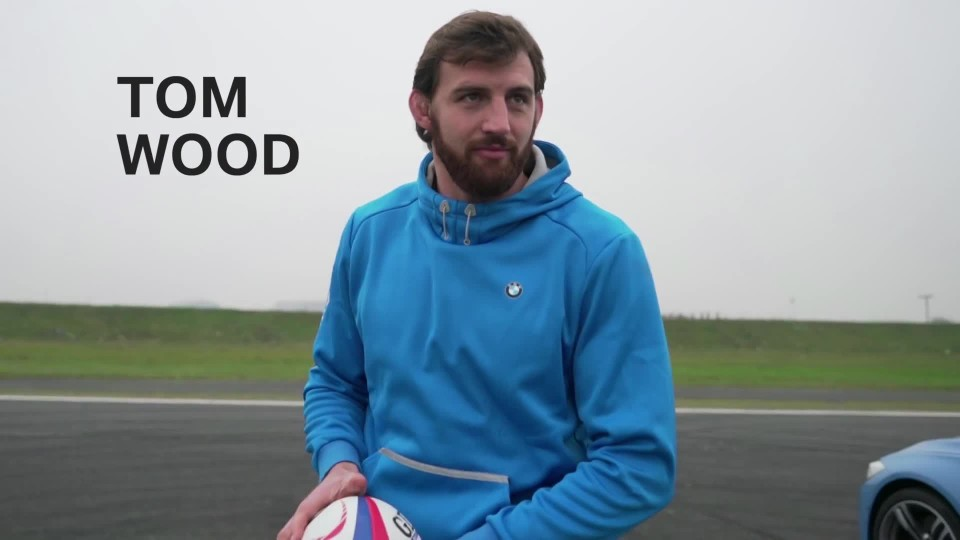 BMW M3 Drift Pass: England Rugby Challenge
