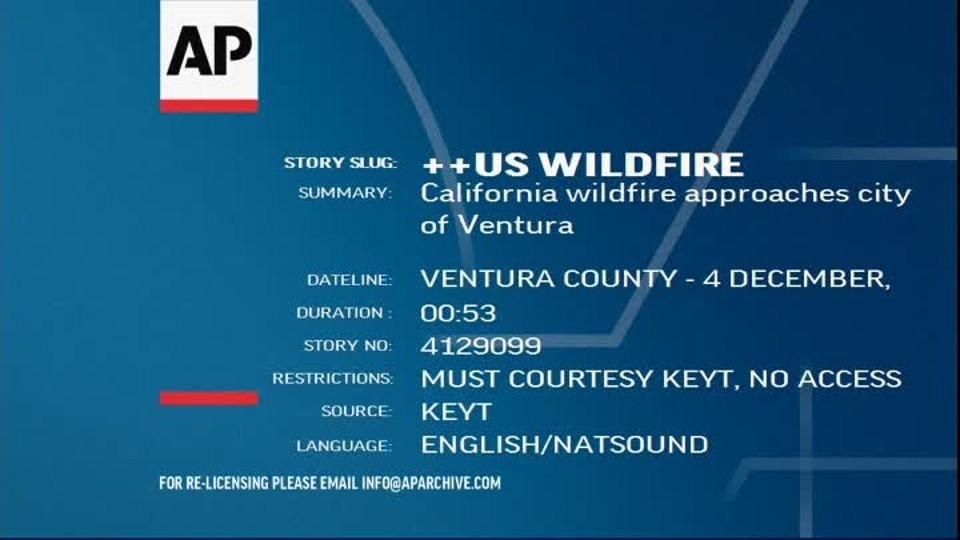 Požár Kalifornie 2