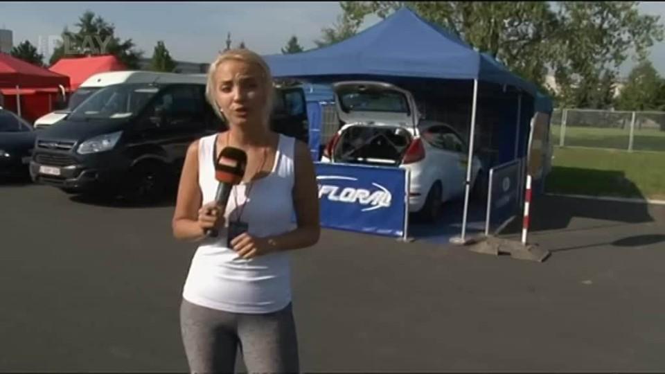 VIP - Lejla Abbasová na rallye