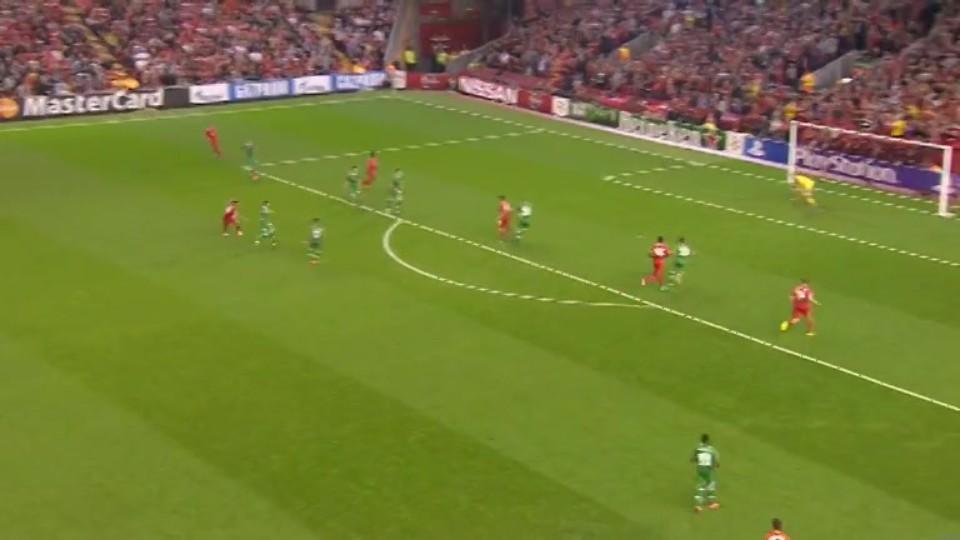 Sestřih zápasu - Liverpool F.C. vs FK Ludogorets 1947 (16.9.2014)