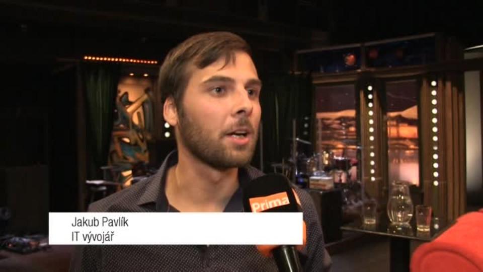 Vývojář IT Jakub Pavlík v SJK