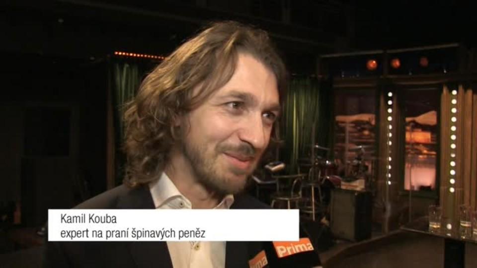 Expert na praní špinavých peněz Kamil Kouba v SJK