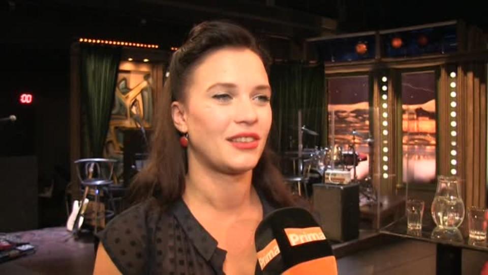 Herečka Kristýna Leichtová v SJK