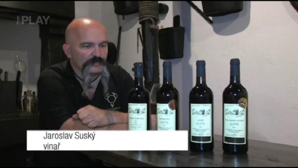 Víno z 11. epizody: Modrý Portugal
