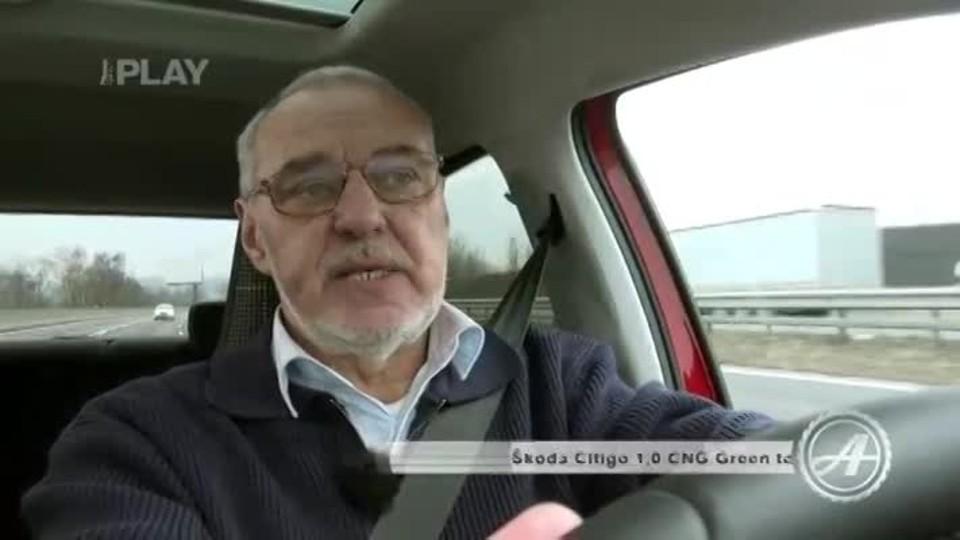 Škoda Citigo 1,0 CNG Green tec