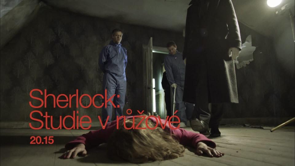 Sherlock: Studie v růžové (1) - upoutávka