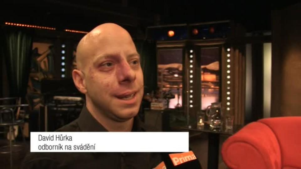 Odborník na svádění David Hůrka v SJK