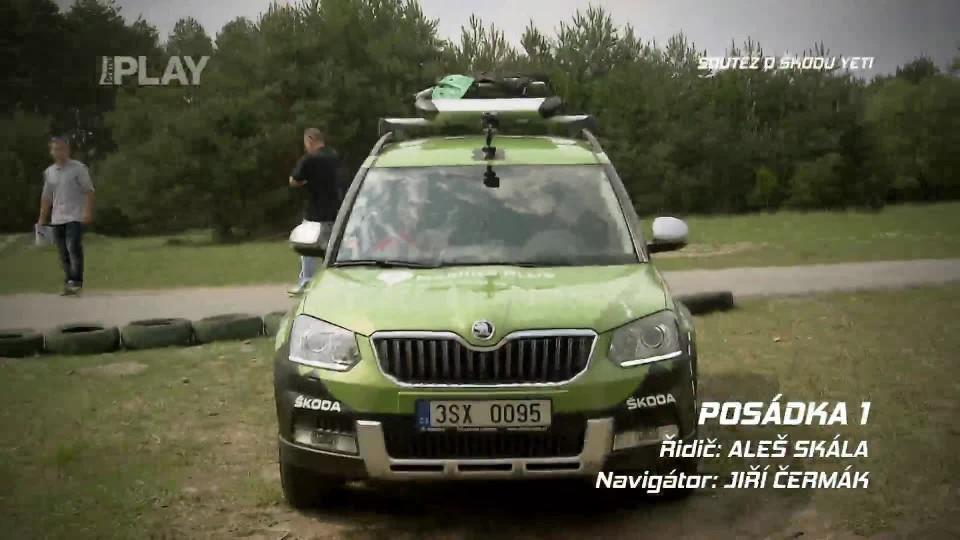 Soutěž o Škoda Yeti 12. týden