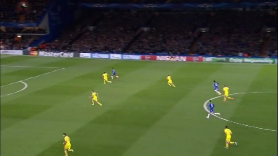 Sestřih zápasu - Chelsea v Maribor (21.10.2014)