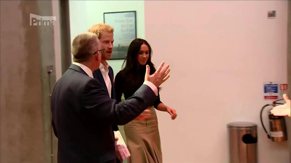 princ Harry a Meghan Markleová na See Red charity event