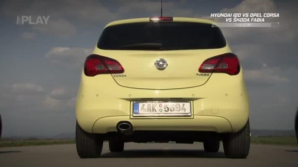 Hyundai i20 1,4 D-CVVT 16V Comfort Style vs Opel Corsa 5D 1,0 Turbo Sport vs Škoda Fabia 1,2