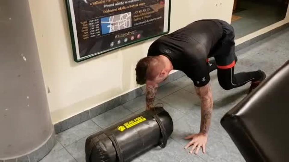 Petr Vágner a jeho příprava na Spartan Race 2