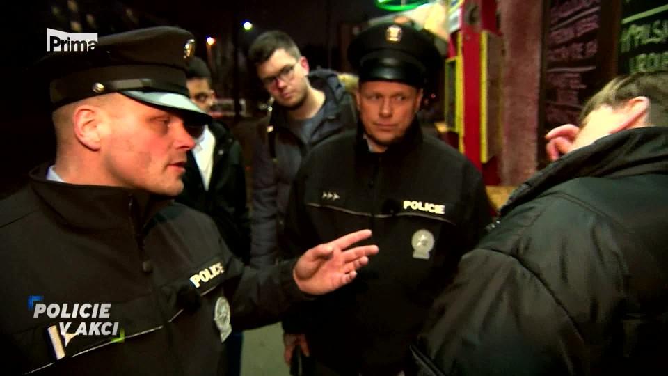 Xenofob - Policie v akci