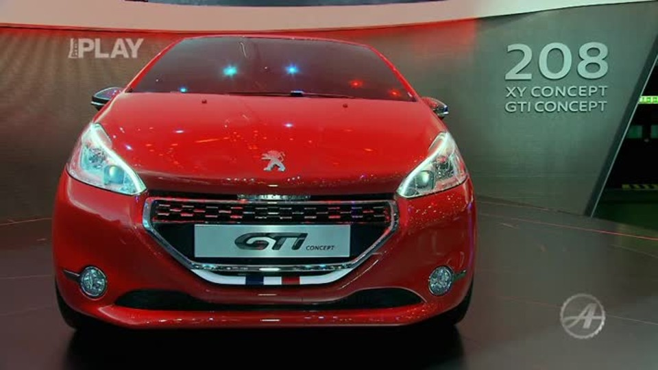 Peugeot 208 XY/ GTI Concept