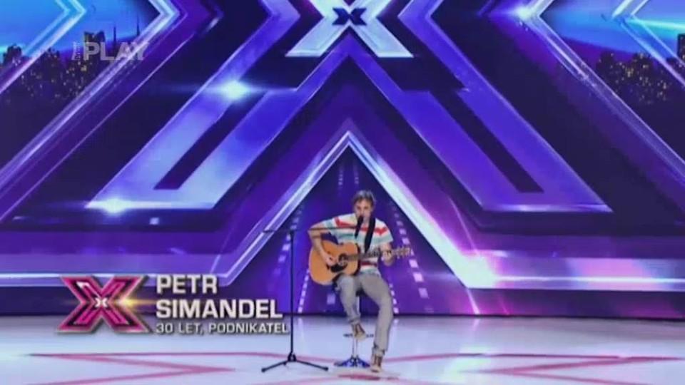 X Factor (6) - nejlepší vystoupení - Peter Simandel