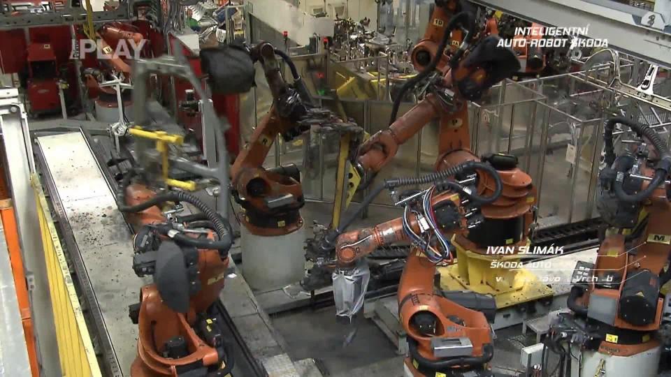 Inteligentní Auto-Robot Škoda