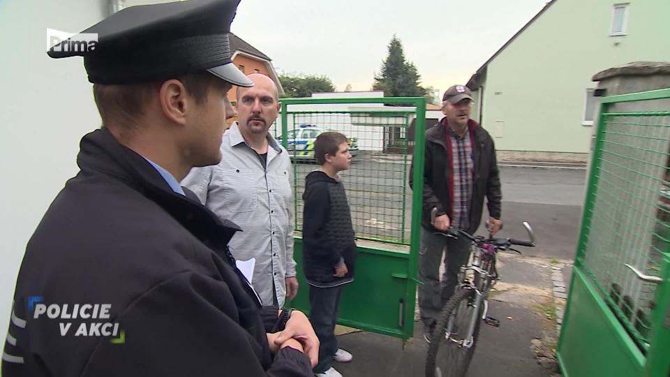 Ukradené kolo - Policie v akci